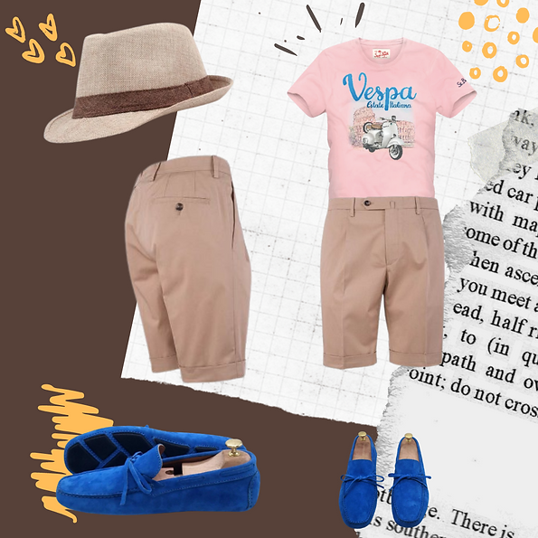 Summer outfit idea for Spring men