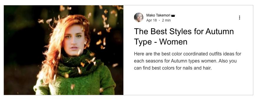 The best styles for Autumn women, Autumn women outfits ideas, Autumn women color coordinate