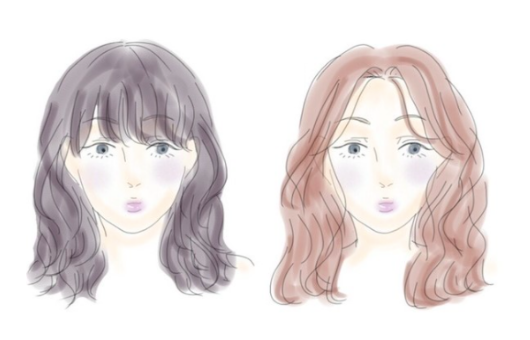 Bangs for oval shaped face, best bangs for oval face, how to know the best bangs for oval face