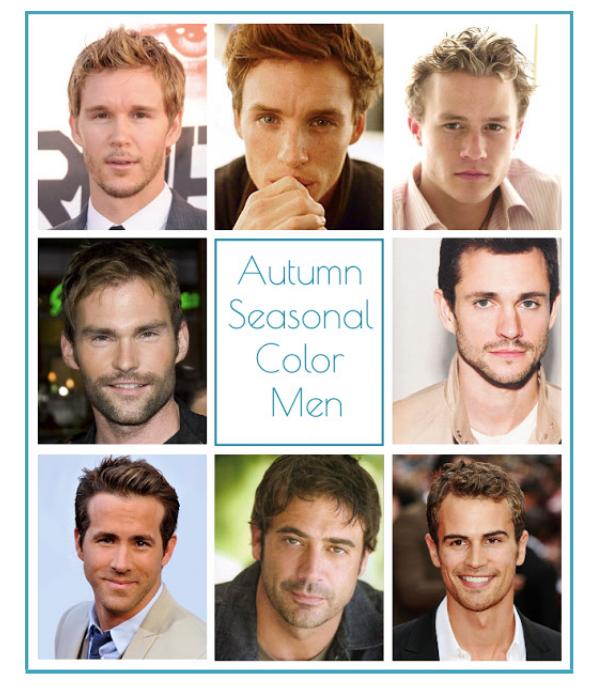 Autumn seasonal color men, autumn color men, autumn color, autumn seasonal color