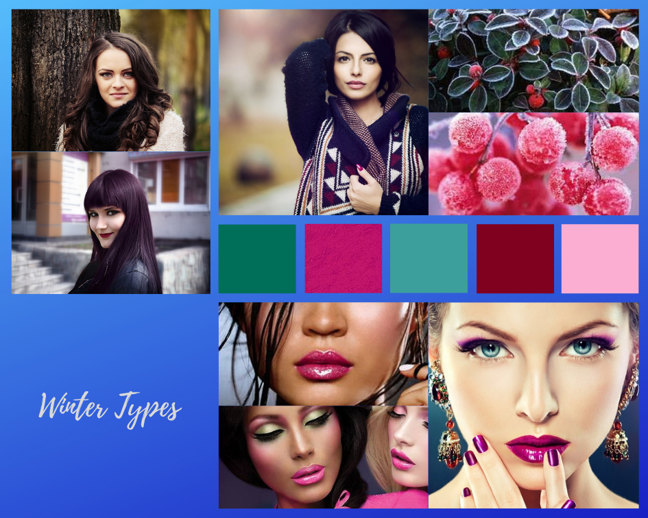 Color analysis, Four seasons color analysis, Winter type women, Winter color for women, Color coordinate for Winter women, Color coordination for Winter women, Outfit ideas for Winter women, The best outfit ideas for Winter women, Outfit tips for Winter women, Best colors for Winter women, Best nail colors for Winter women, Best hair colors for Winter women