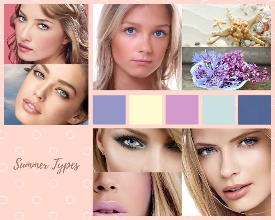 Color analysis, Four seasons color analysis, Summer type women, Summer color for women, Color coordinate for summer women, Color coordination for summer women, Outfit ideas for summer women, The best outfit ideas for summer women, Outfit tips for summer women, Best colors for summer women, Best nail colors for summer women, Best hair colors for summer women