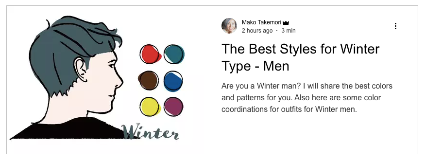 The Best styles for Winter type-men, Color analysis winter men, Four seasons color analysis winter men