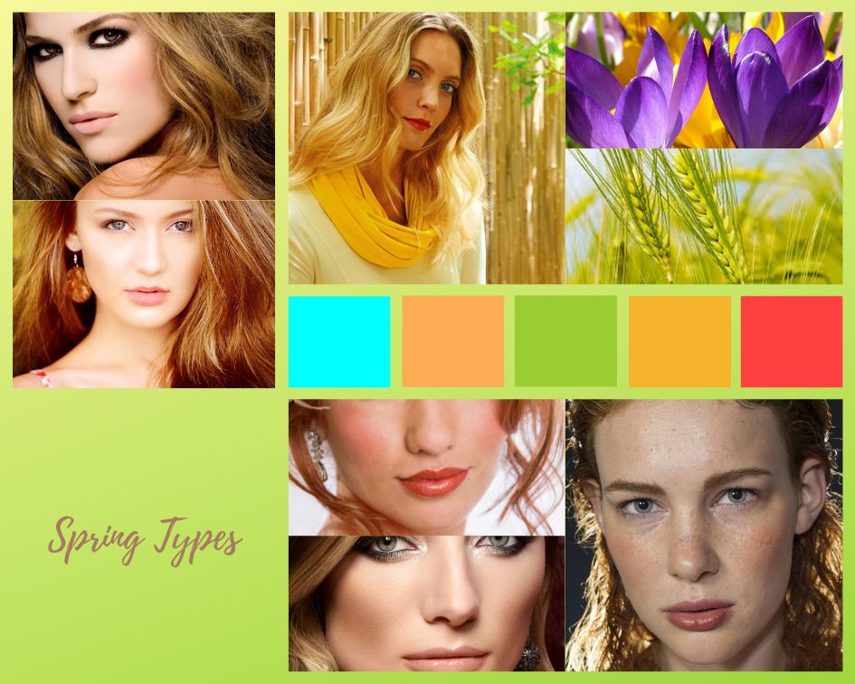 Color analysis, Four seasons color analysis, Spring type women, Spring color for women, Color coordinate for spring women, Color coordination for spring women, Outfit ideas for spring women, The best outfit ideas for spring women, Outfit tips for spring women, Best colors for spring women, Best nail colors for spring women, Best hair colors for spring women, Spring types women, Spring types outfits women