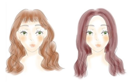 Bangs for heart shaped face, best bangs for heart face, how to know the best bangs for heart face