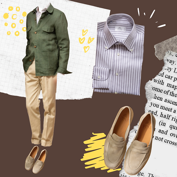 Spring outfit idea for Spring men
