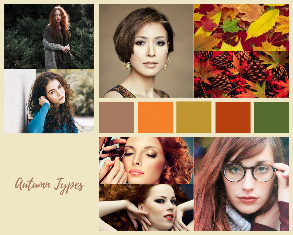Color analysis, Four seasons color analysis, Autumn type women, Autumn color for women, Color coordinate for Autumn women, Color coordination for Autumn women, Outfit ideas for Autumn women, The best outfit ideas for Autumn women, Outfit tips for Autumn women, Best colors for Autumn women, Best nail colors for Autumn women, Best hair colors for Autumn women