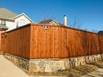Better Built Cedar Wood Fence
