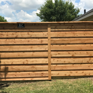 Better Built Cedar Wood Fence