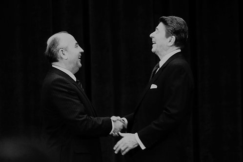 Rencontre entre Mikhaël Gorbatchev et Ronald Reagan, genève,novembre 1985