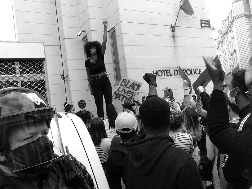 black lives matter 6 juin Poitiers pf.jp