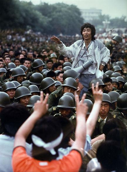 Pékin, place Tian An Men, le 3 juin 1989