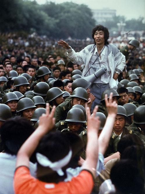 Place Tian An Men Pékin 3 juin 1989