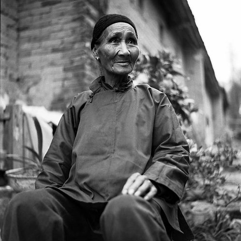 Femme paysanne, Xingping, Chine, 1987