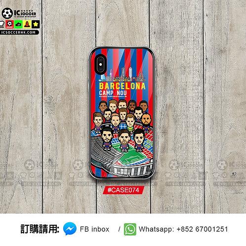 CASE074 巴塞 鋼化玻璃電話套