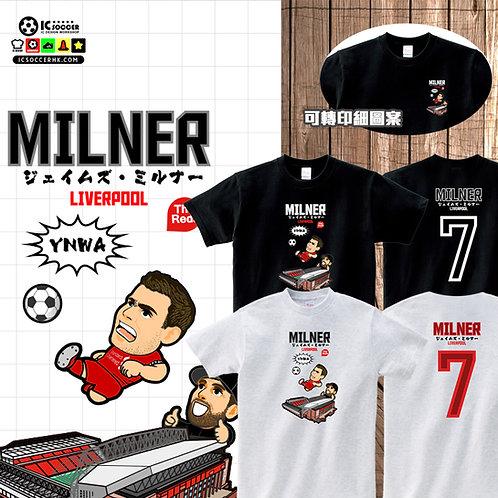 TEE 米拿 Milner 白灰色 / 黑色