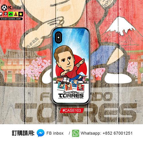 CASE103 王子 鋼化玻璃電話套