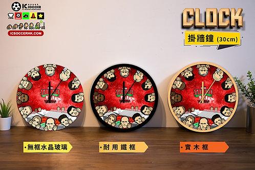 CK002 紅魔三冠王 高質靜音掛牆鐘
