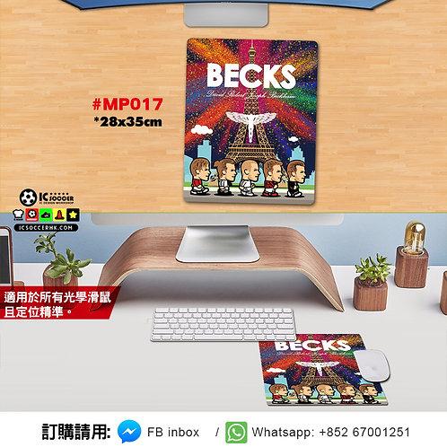 #MP017 BECKS MOUSEPAD / 書枱墊