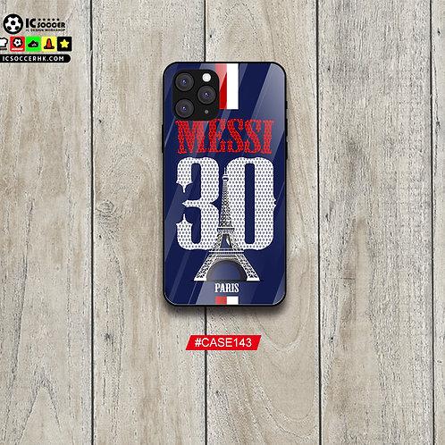 CASE143 MESSI 30 鋼化玻璃電話套