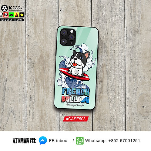 CASE503 法鬥 x 衝浪 鋼化璃電話套