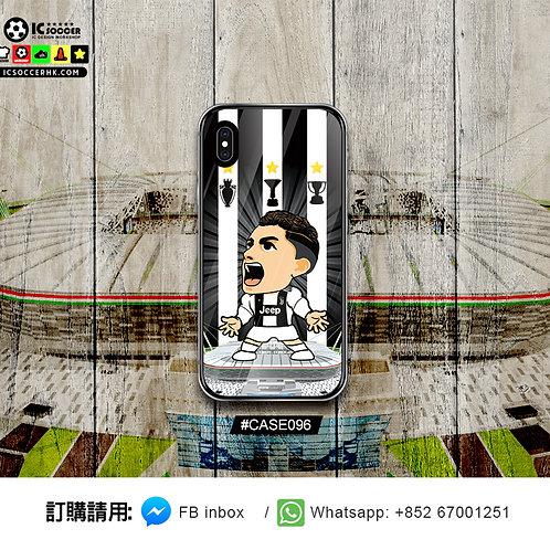 CASE096 RONALDO 鋼化玻璃電話套