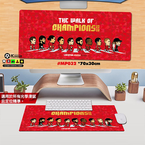 MP032 利記The Walk of Champions 特大書枱墊 Mousepad