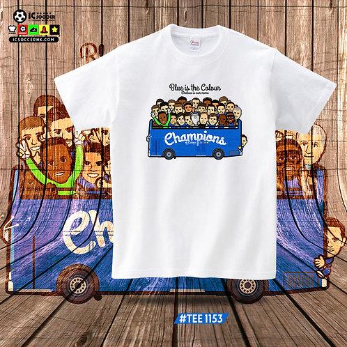TEE1153 車仔慶祝巴士 - 白色 / 白灰色