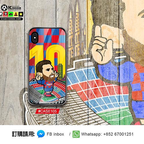 CASE105 巴塞美斯 鋼化玻璃電話套