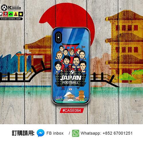 CASE064 日本 2018 鋼化玻璃電話套
