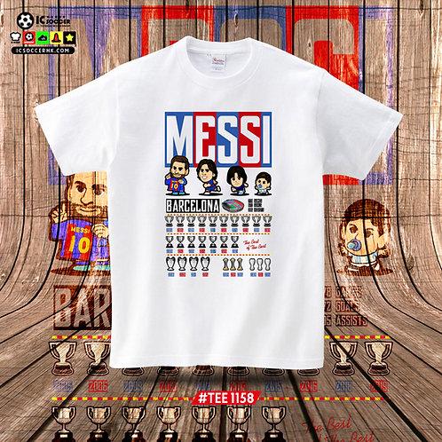 TEE1158/1159 Messi - 白色