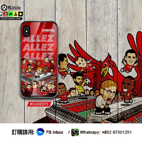 CASE073 ALLEZ ALLEZ ALLEZ 鋼化玻璃電話套