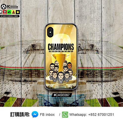 CASE097 祖記8連冠  鋼化玻璃電話套