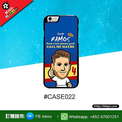 #CASE022 拉莫斯 RAMOS 鋼化玻璃電話套