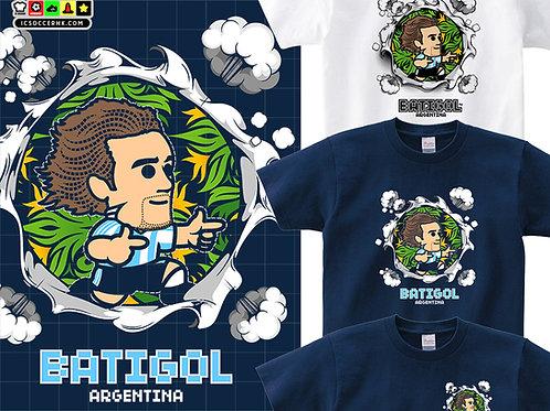 TEE1996-1998 - BATIGOL 白色 /深藍色