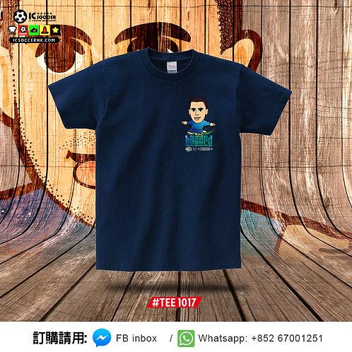 TEE1017 夏神 Tee (深藍色)