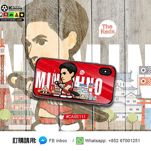 CASE111 Minamino 鋼化玻璃電話套