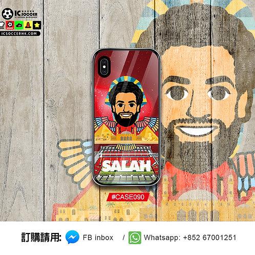 CASE090 SALAH 鋼化玻璃電話套