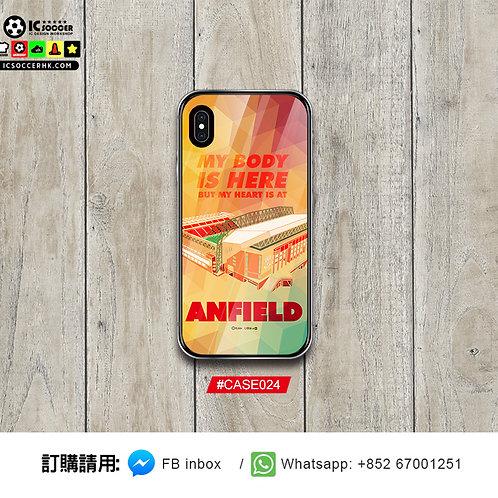 #CASE024 Anfield 鋼化玻璃電話套