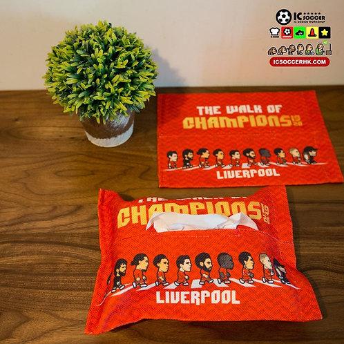 TB001 - TB003 The Walk of Champions 紙巾套