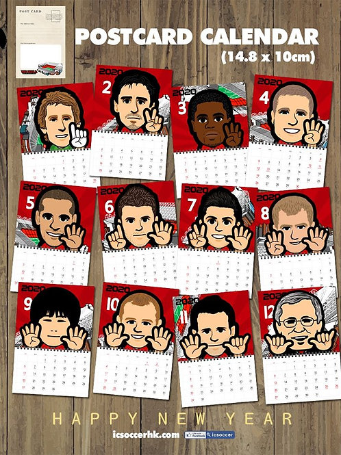 CD002 紅魔 POSTCARD X 座?月曆