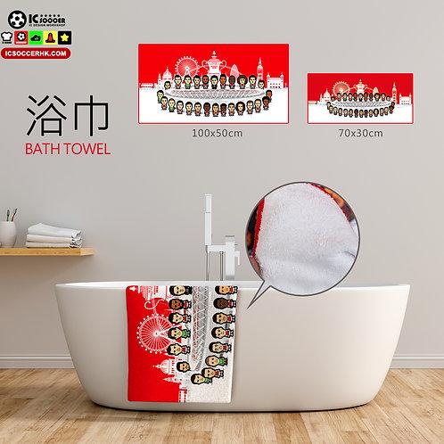 TW002 兵工廠 足總盃冠軍  浴巾 / 毛巾