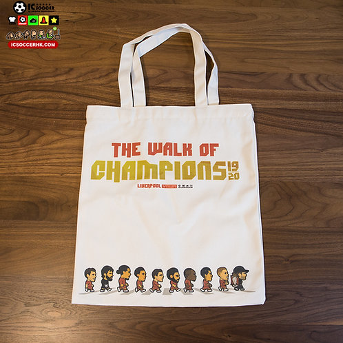 BAG001 The Walk of Champions 帆布拉鍊袋