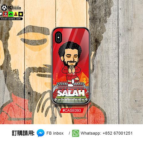 CASE093 SALAH celebration 鋼化玻璃電話套
