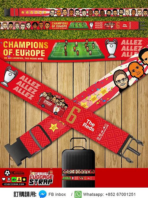 LB017 利記歐聯六星 行李帶