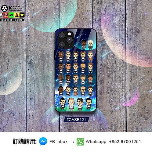 CASE121 熱刺新球季 20/21 鋼化玻璃電話套