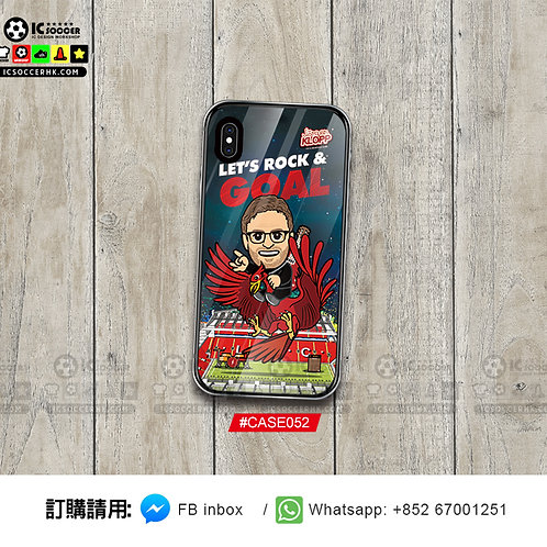 CASE052 高普 新款鋼化玻璃電話套