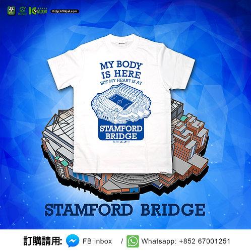 #TEE0667 史丹福橋球場 Stamford Bridge 白色