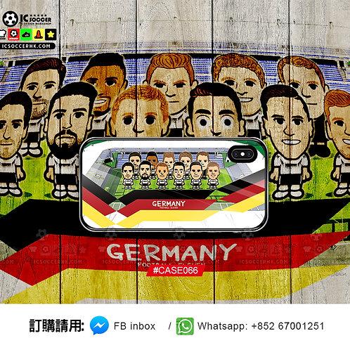 CASE066 德國  鋼化玻璃電話套