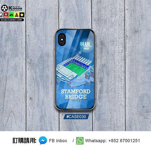 #CASE030 史丹福橋 Stamford Bridge 全新鋼化玻璃電話套